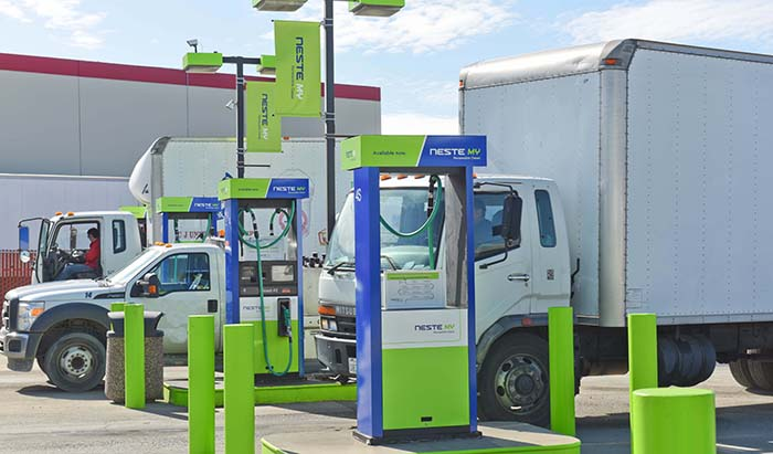 Bio-Based Diesel Fuels like Neste MY Renewable Diesel Deliver Largest Carbon Emission Reductions for California Transportation Sector