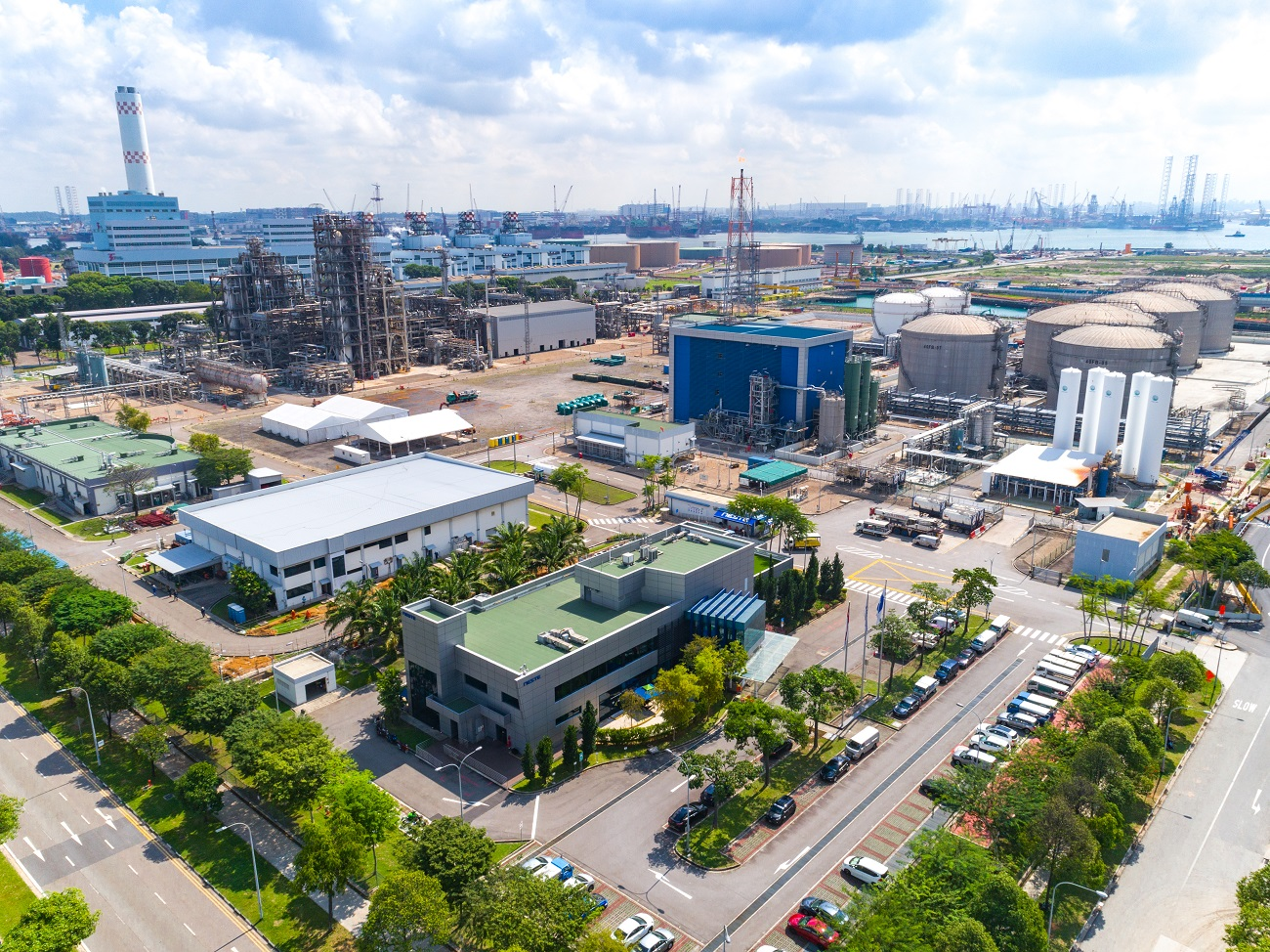 Drone image_Neste Singapore Refinery