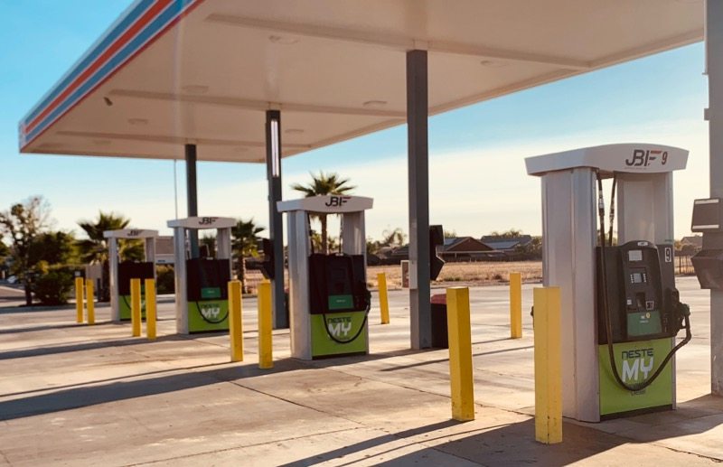 California And West Coast Businesses Benefit From Increased Availability Of Renewable Diesel Fuel: Neste Opens Four New Fueling Stations So Fleet Drivers Can Access Neste MY Renewable Diesel