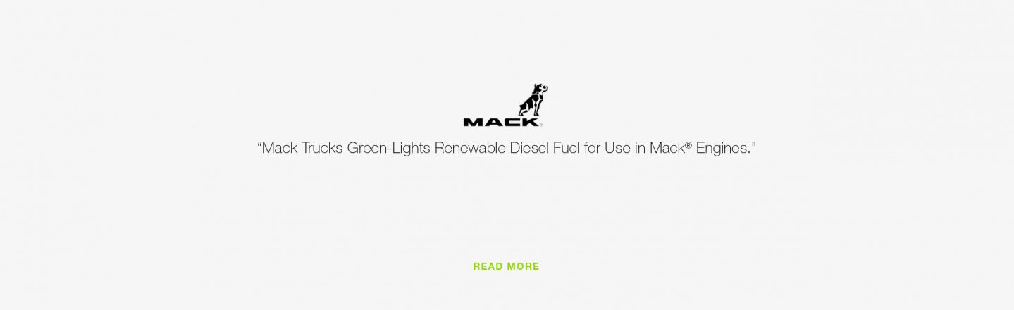Mack Trucks Green-Lights Renewable Diesel Fuel for Use in Mack Engines