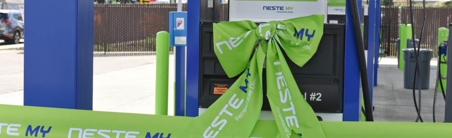Neste new station