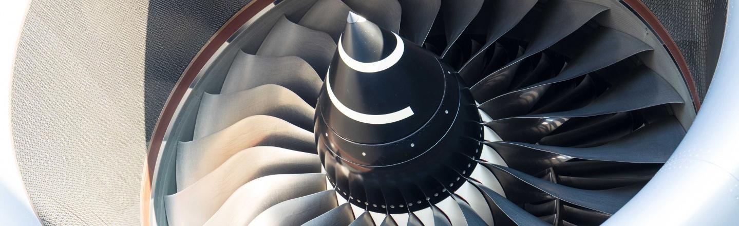 aeroplane's turbine