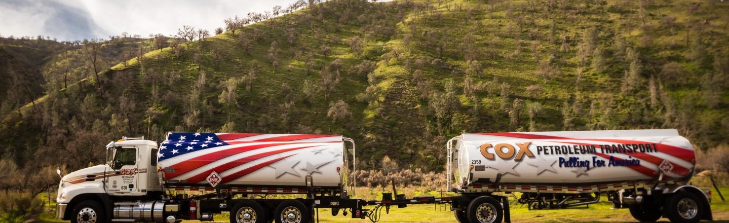 Truck powered by renewable diesel