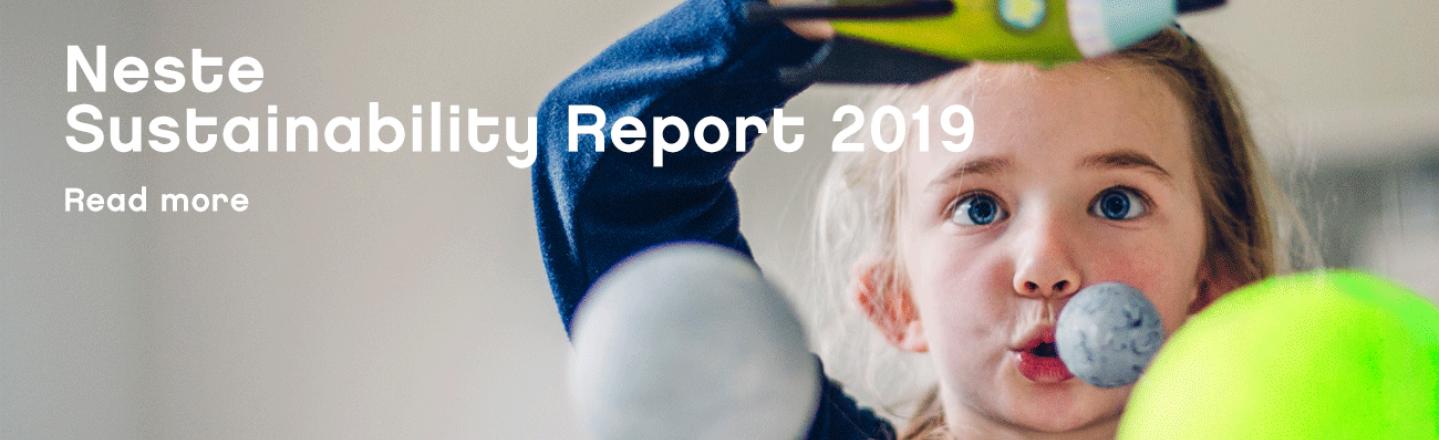 Neste Sustainability Report 2019