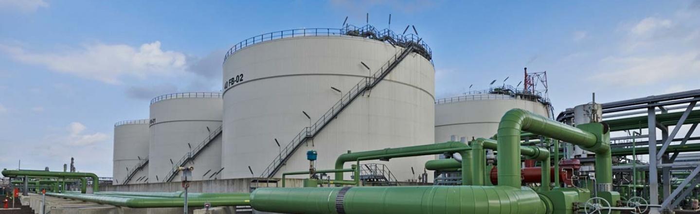 Neste's storage terminal in Rotterdam