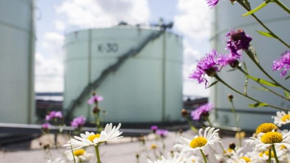 Neste oil tanks