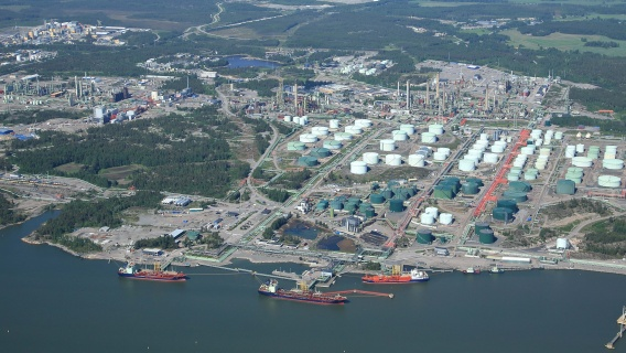 Refining capacity in Neste Porvoo plant is approximately 15 million t/a