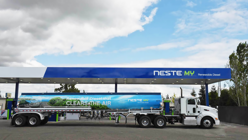 Neste MY Renewable Diesel station