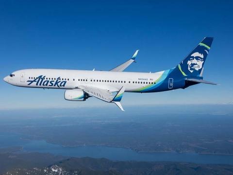 Alaska Airlines airplane
