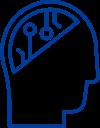 Technology mindset icon